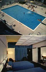 Pool Area and Bedroom, Holiday Inn