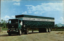 Champlain Container & Box Corp. Truck