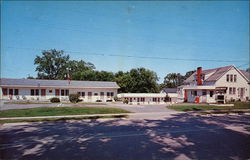 The Highlander Motel, Route 7 Postcard