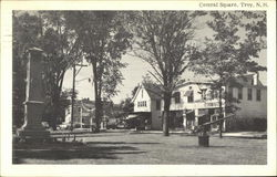 View of Central Square Postcard