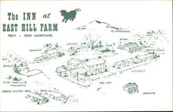 The Inn at East Hill Farm Postcard