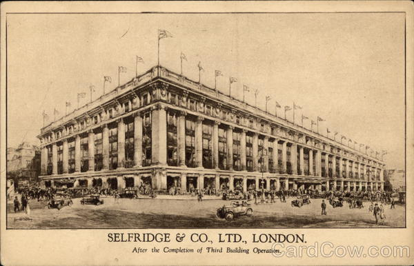 Selfridge & Co., Ltd. London England