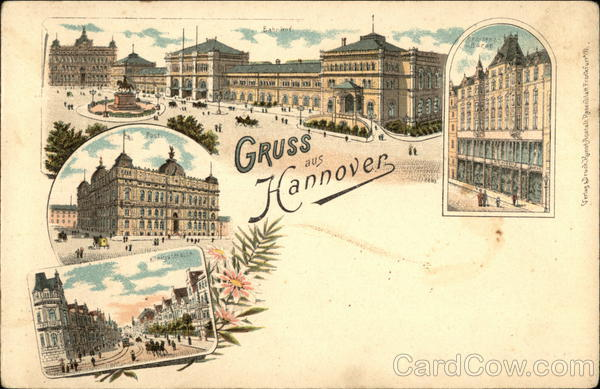 Gruss aus Hannover Germany