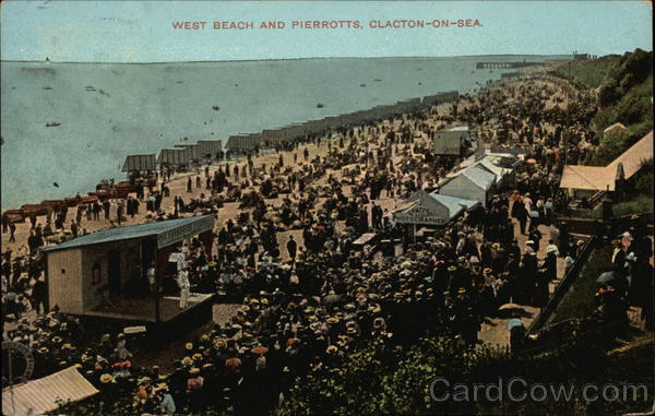 West Beach and Pierrotts Clacton-on-Sea England