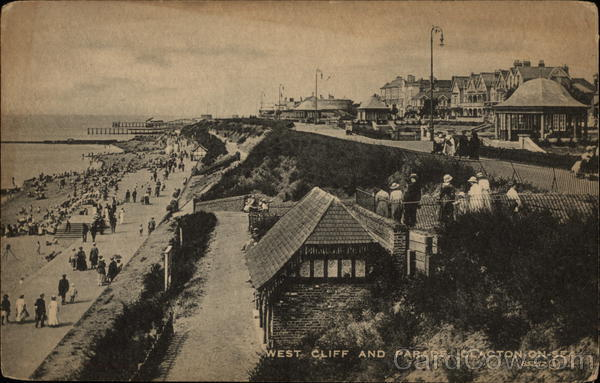 West Cliff and Parade Clacton-on-Sea United Kingdom