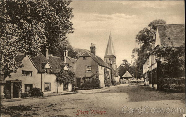 View of Village Shere England