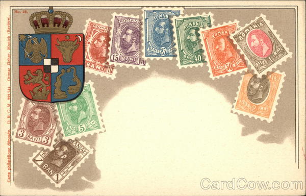 Romanian Stamps Stamp Postcards