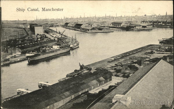Ship Canal, Manchester United Kingdom Greater Manchester