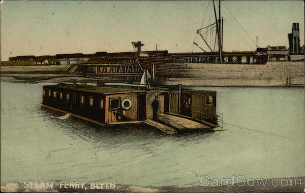 Steam Ferry Blyth England