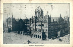 Railway Station, Bombay