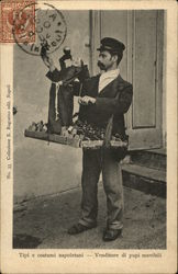 Tipi e costumi napoletani - Venditore di pupi movibili