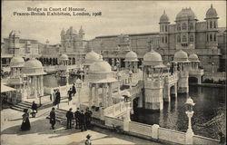 Bridge in Court of Honor, Franco-British Exhibition 1908