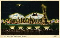 New York Skyline, Blackpool Illuminations