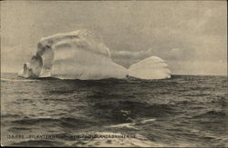 Iceberg in Atlantic, Newfoundland Banks