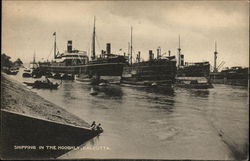 Shipping in the Hooghly, Calcutta