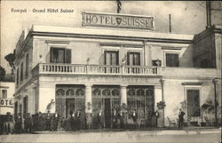 Grand Hotel Suisse Postcard
