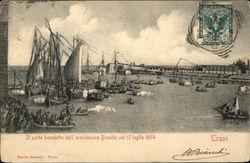 Il Porto Benedetto dall' Arcivescovo Bianchi nel 15 Luglio 1854