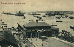 View of Harbour and Landing Jetty