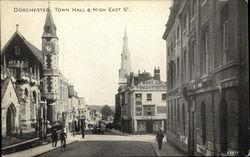 Dorchester, Town Hall & High Esat St.
