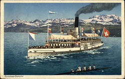 Steamer, Lake Zurich