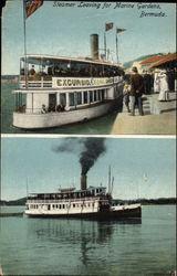 Steamer Leaving for Marine Gardens
