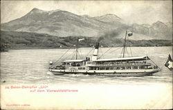 "Steamer ""Uri"", Lake Lucerne"