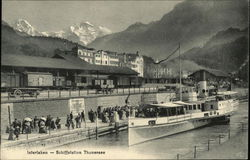 Schiffstation Thunsersee