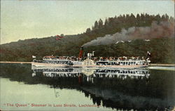 """The Queen"" Steamer in Luss Straits"