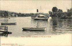 La Port, Le Chateau et L'ile de la Harpe