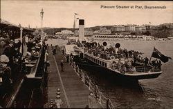 Pleasure Steamer at Pier