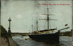 Training Ship from The Embankment
