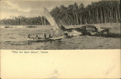 """""""After the day's labour"""", Ceylon"""