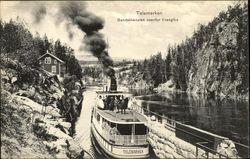 Telemarken - Bandakkanallen ovenfor Vrangfos