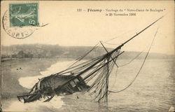 "Fecamp - Naufrage du ""Notre-Dame de Boulogne"""