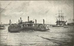 Floating Bridge, Portsmouth Harbor