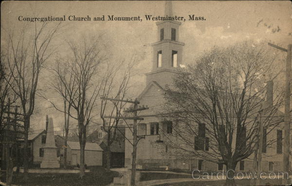 Congregational Church and Monument Westminster Massachusetts