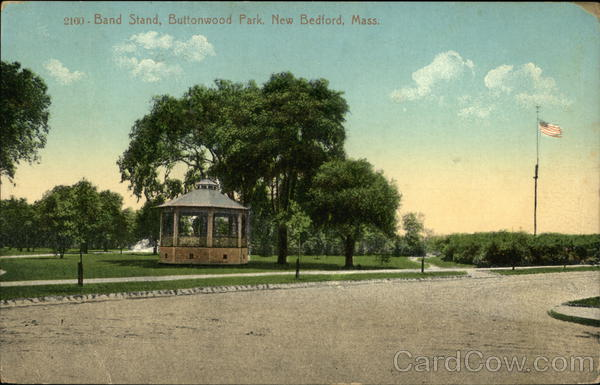 Band Stand, Buttonwood Park New Bedford Massachusetts