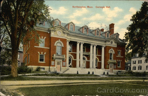 Carnegie Hall Northampton Massachusetts