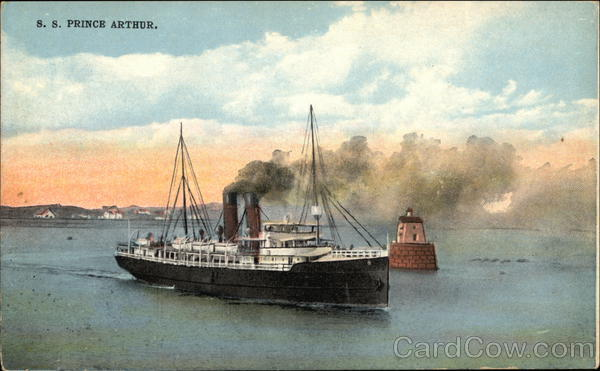 S.S. Prince Arthur Steamers