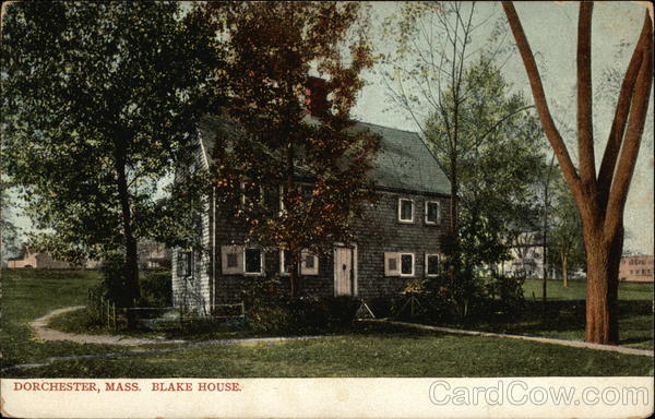 Blake House Dorchester Massachusetts