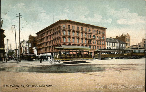 View of Commonwealth Hotel Harrisburg Pennsylvania