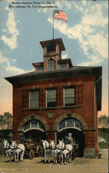 Susquehanna Hose Co. No. 9, Fire Department Harrisburg Pennsylvania