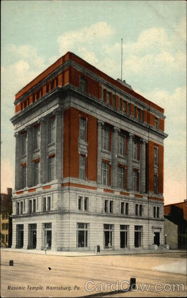 Masonic Temple Harrisburg Pennsylvania Freemasonry