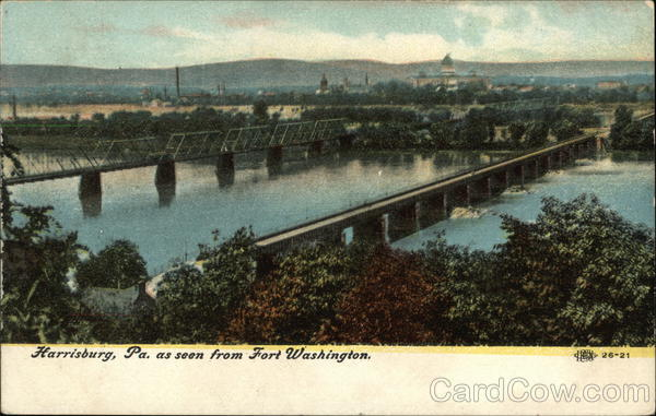 Scene from Fort Washington Harrisburg Pennsylvania