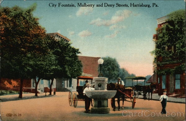 City Fountain, Mulberry and Derry Streets Harrisburg Pennsylvania