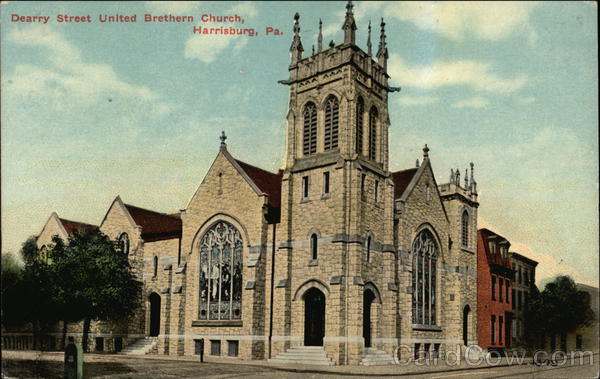 Dearry Street United Bretern Church Harrisburg Pennsylvania