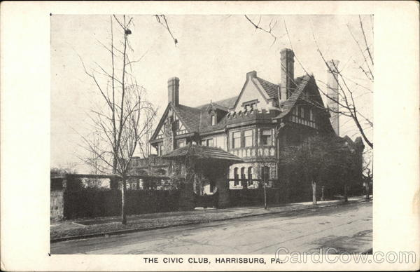 The Civic Club Harrisburg Pennsylvania
