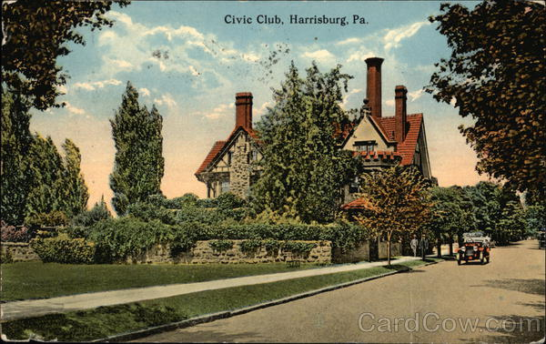 Civic Club Harrisburg Pennsylvania