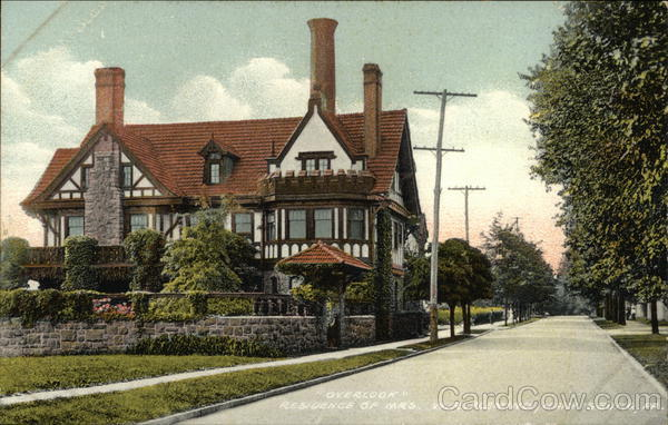 Overbrook, Residence of Mrs. W.R. Fleming Harrisburg Pennsylvania
