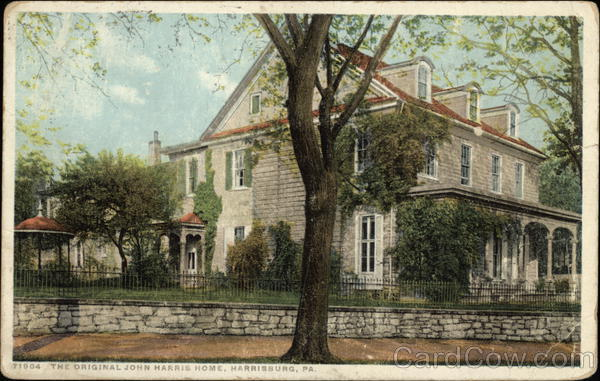 The Original John Harris Home Harrisburg Pennsylvania